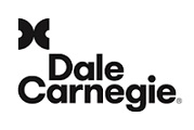 Stacked Monogram Logo Dale Carnegie black