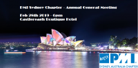 PMI Sydney Chapter Event – Annual General Meeting